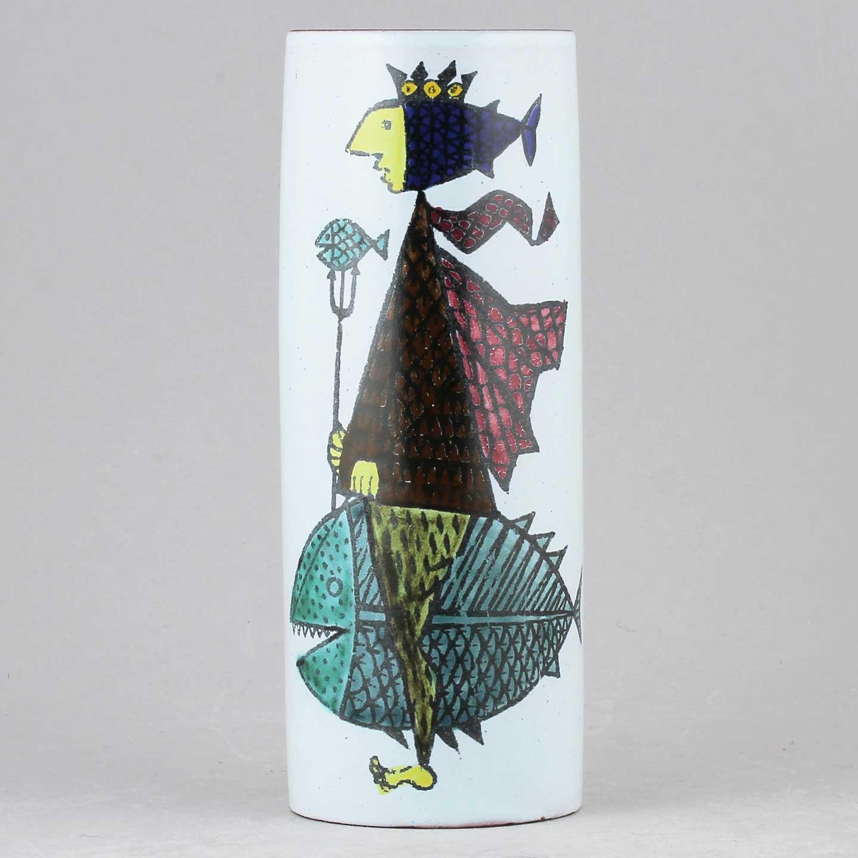 Stig Lindberg Gustavsberg Azur Vase Sweden 1958